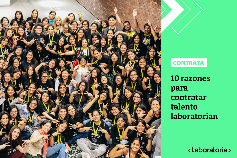 El talento tech femenino de Laboratoria está listo para integrar tus equipos de tecnología.