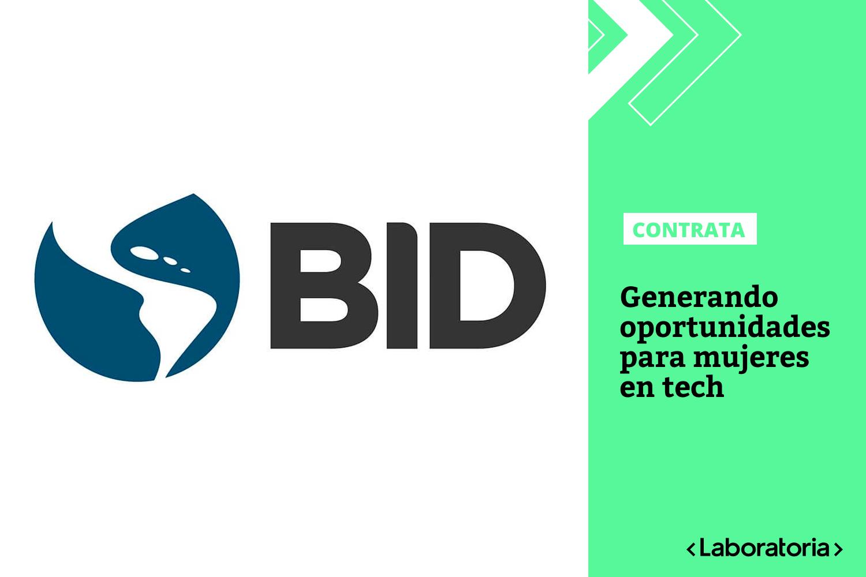 La alianza entre el BID y Laboratoria se renueva con una iniciativa para mujeres que innovan y ayudan a construir un mundo tecnológico más diverso, inclusivo y competitivo en América Latina y el Caribe.